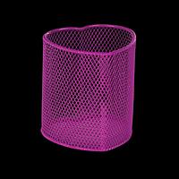 Стакан для ручок, рожевий