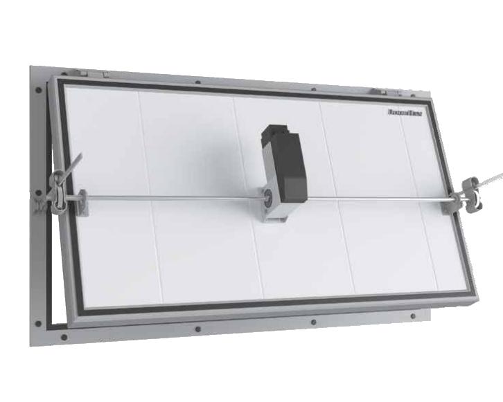 Клапан вентиляционный для овощехранилищ DoorHan