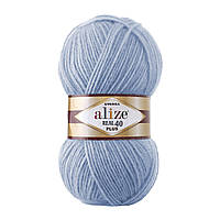 Alize Angora Real 40 Plus № 40 голубой