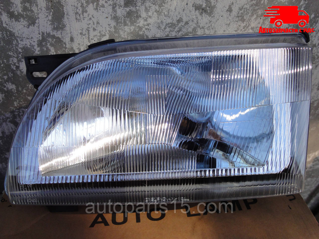 Фара ліва Ford TRANSIT (DEPO) 431-1151L-LD-EM