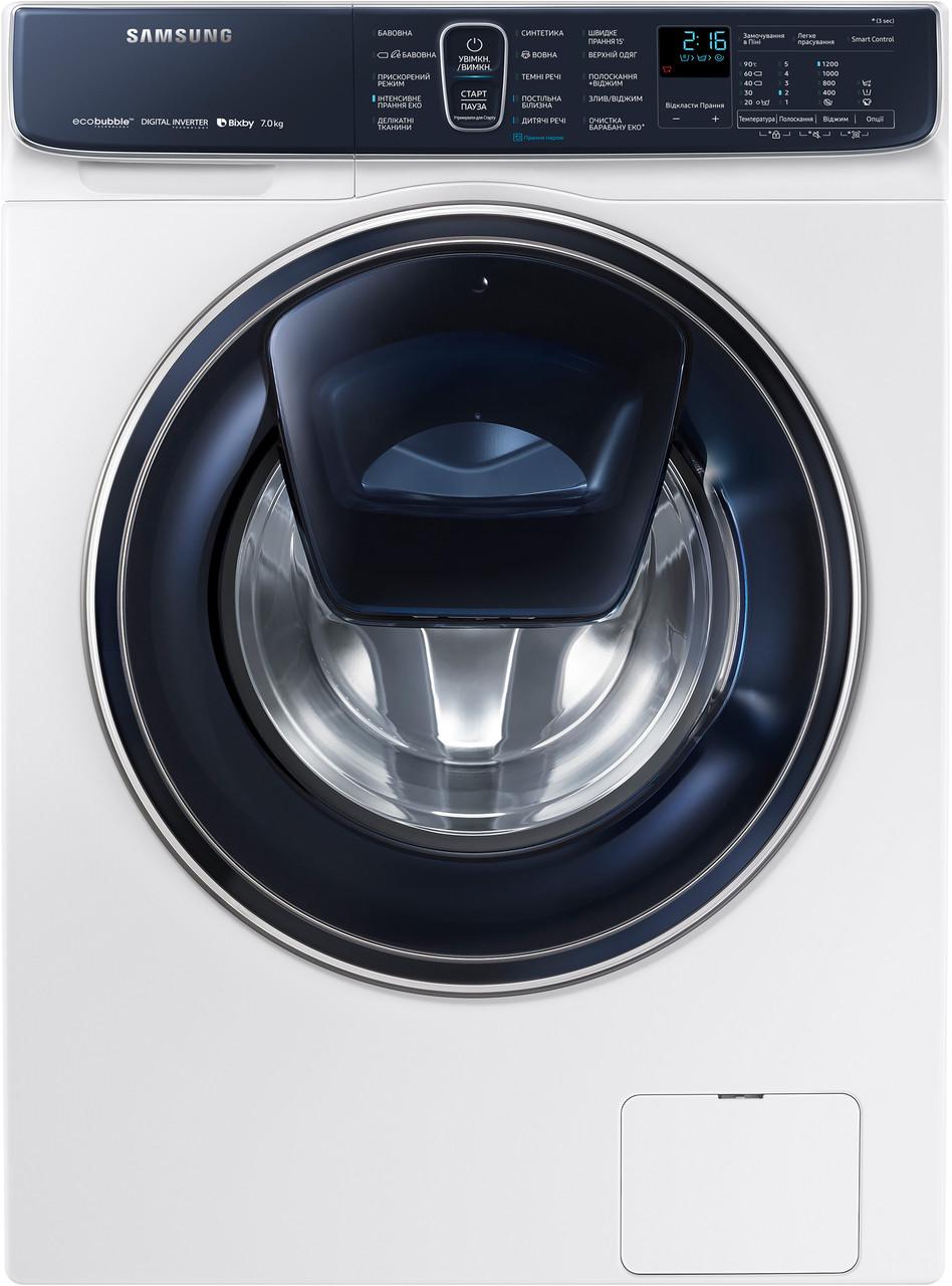 Стиральная машина фронтальная Samsung WW70R62LATWDUA