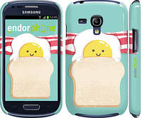 "Чехол на Samsung Galaxy S3 mini Веселая глазунья ""2842c-31"""