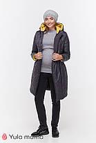 Куртка пуховик зимняя 2 в 1 зимнее для беременных и кормящих S M L XL, фото 2