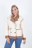 Шикарное демисезонное женское пальто