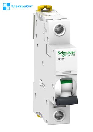 Автоматичний вимикач IC60N-B16 16A однополюсний Schneider, фото 2