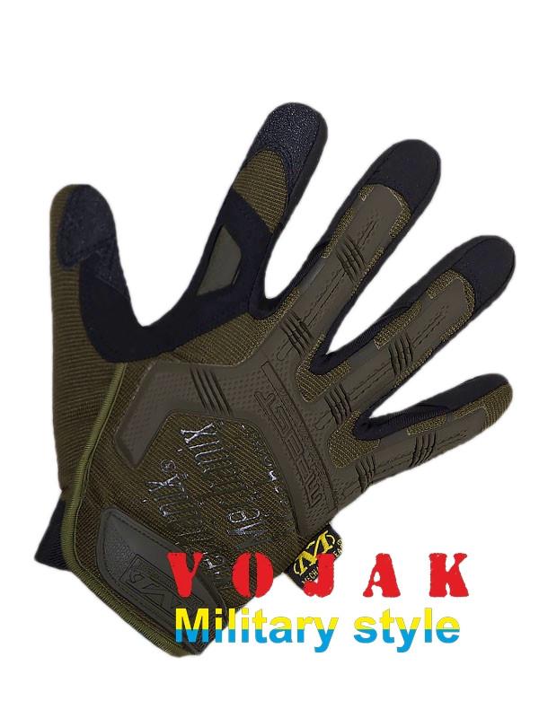 Перчатки тактические Mechanix Wear M-Pact Gloves (OLIVE)