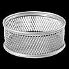 Підставка для скріпок BUROMAX, металева, срібло