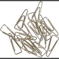 Скрiпки нікельовані JOBMAX, 25мм, 100шт., трикутні