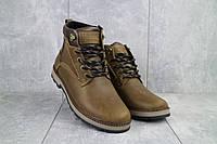Мужские зимние ботинки из натуральной кожи Yuves 774