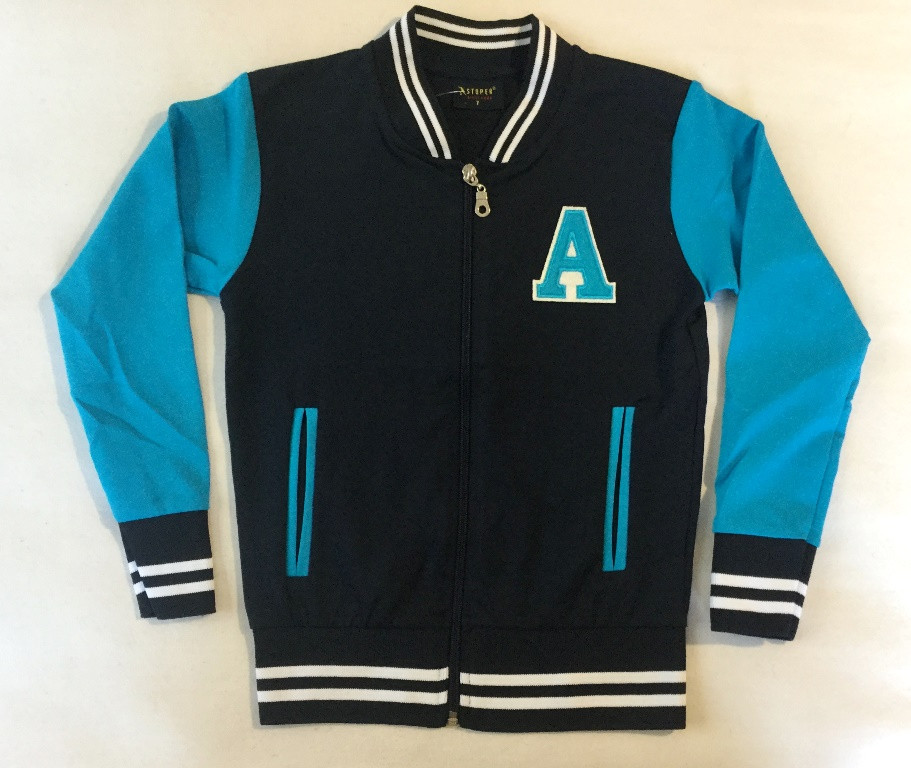 Курточка-бомбер Stoper 7-10 лет синего цвета