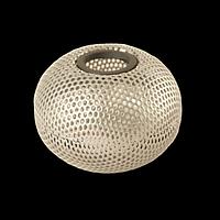 """Підставка для скріпок """"Шар"""", металева 75х57мм, срібло, фото 1"""