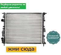 Радиатор двигателя RENAULT CLIO 2, KANGOO, MEGANE, LOGAN, SCENIC (1.1-2.0) 1996- / Thermotec