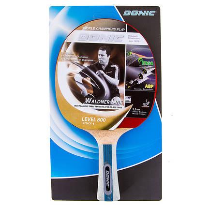 Теннисная ракетка Donic Waldner Line 800 D-WL800, фото 2
