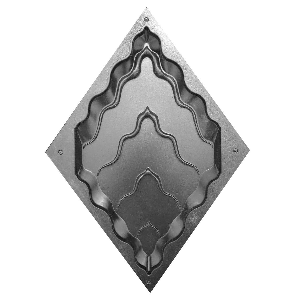 "Пластиковая форма для 3d панелей ""Титан №2"" (форма для 3д панелей из абс пластика)"