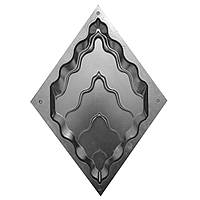 """Пластикова форма для 3d панелей """"Титан №2"""" (форма для 3д панелей з абс пластику), фото 1"""