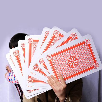 Карты игральные | Jumbo Playing Cards (Гигантские карты), фото 2