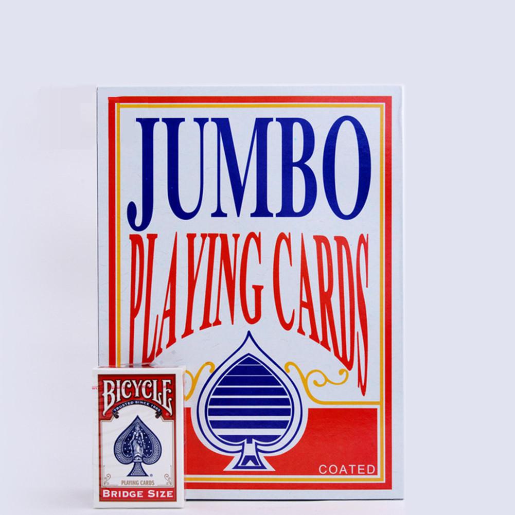 Карты игральные | Jumbo Playing Cards (Гигантские карты)