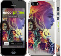 "Чехол на iPhone 5 Game of thrones art ""2841c-18"""