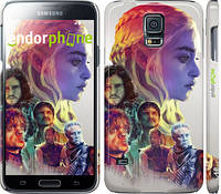 "Чехол на Samsung Galaxy S5 Duos SM G900FD Game of thrones art ""2841c-62"""