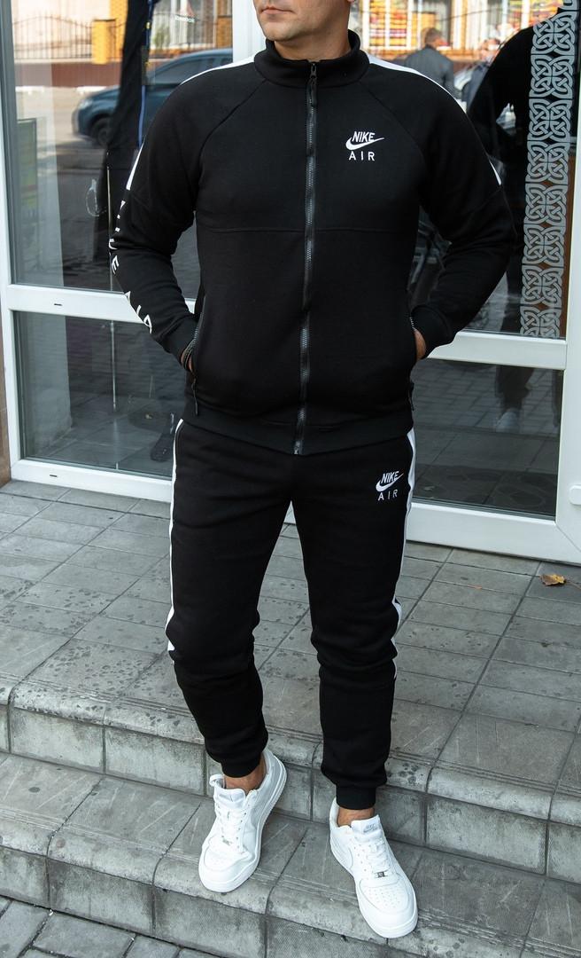 Спортивный костюм Nike Air. Мужской утепленный спортивный костюм. ТОП качество!!!Реплика.