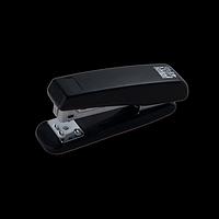 Степлер пластиковий BUROMAX, 20 аркушів, (скоби №24; 26), чорний, фото 1