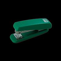 Степлер пластиковий BUROMAX, 20 аркушів, (скоби №24; 26), зелений, фото 1