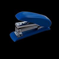 """Степлер пластиковий """"POWER SAVING"""" BUROMAX, 20 аркушів, (скоби №24; 26), синій, фото 1"""