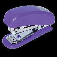"""Степлер пластиковий """"МІНІ"""" BUROMAX,10 аркушів, (скоби №10), фіолетовий, фото 1"""