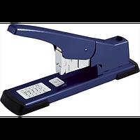 Степлер металеви посиленої потужності BUROMAX, 100 аркушів, (скоби №23), синій, фото 1