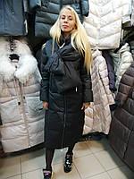 Коллекция зима 2020, зимний пуховик одеяло пальто сlasna cw19d9433 XL, 48 размер