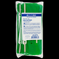 Мінішвидкозшивач (25 шт.), зелений