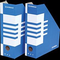 Накопичувач для паперів А4, 100 мм, синій