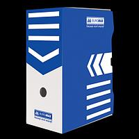 Бокс для архівації документів 150 мм, BUROMAX, синій