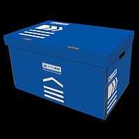 Короб для архівних боксів, BUROMAX, синій