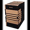 Бокс для архівації документів, 200 мм, коричневий
