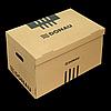 Короб для архівних боксів з накидною кришкою, DONAU, крафт