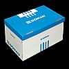 Короб для архівних боксів з накидною кришкою, DONAU, синій