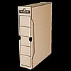 Бокс для архівації R-Kive Basics 80 мм, 650 аркушів А4, крафт