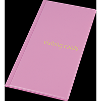 Візитниця для 96 візиток, PVC, фіолетовий