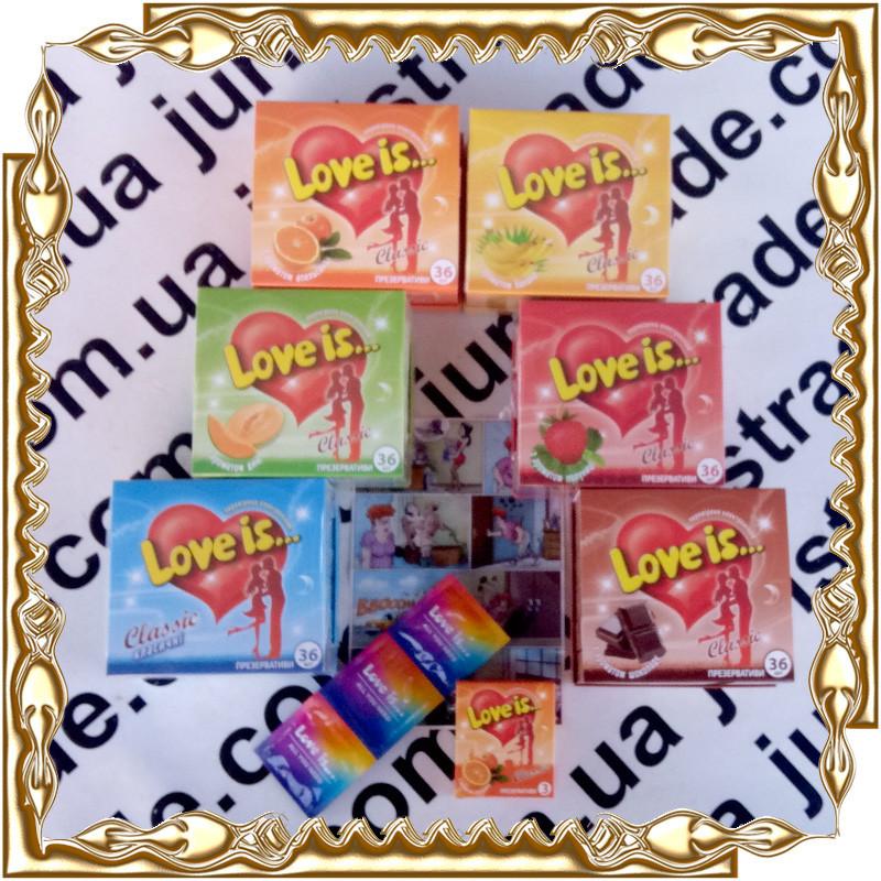Презервативи Love Is Classic 3 шт. 12 уп./бл.