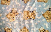Матрас для детской кроватки КПК-LUX кокос-поролон-кокос, 120х60 см. Толщина 7 см.много цветов