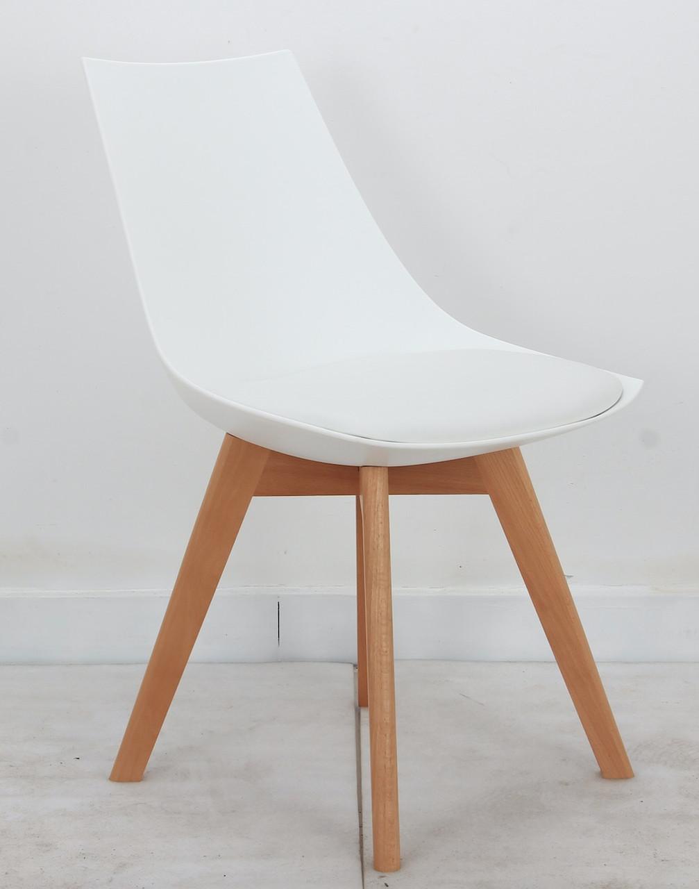 Стілець Klim Eames, білий