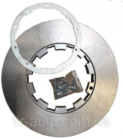 Монтажный комплект диска тормозного DAF XF/CF (кольцо) ( Frenka ) 15.009.002-FR