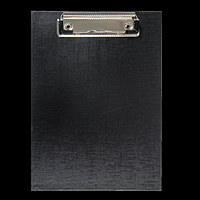 Кліпборд BUROMAX, А5, PVC, чорний