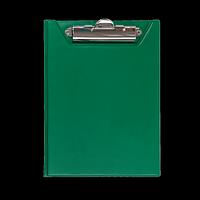 Кліпборд-папка BUROMAX, А5, PVC, зелений