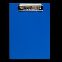 Кліпборд BUROMAX, А5, PVC, темно-синій