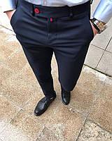 Чоловічі класичні брюки темно-сині Dj2, фото 1