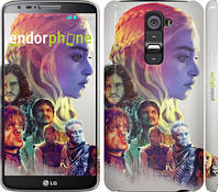 "Чехол на LG G2 Game of thrones art ""2841c-37"""