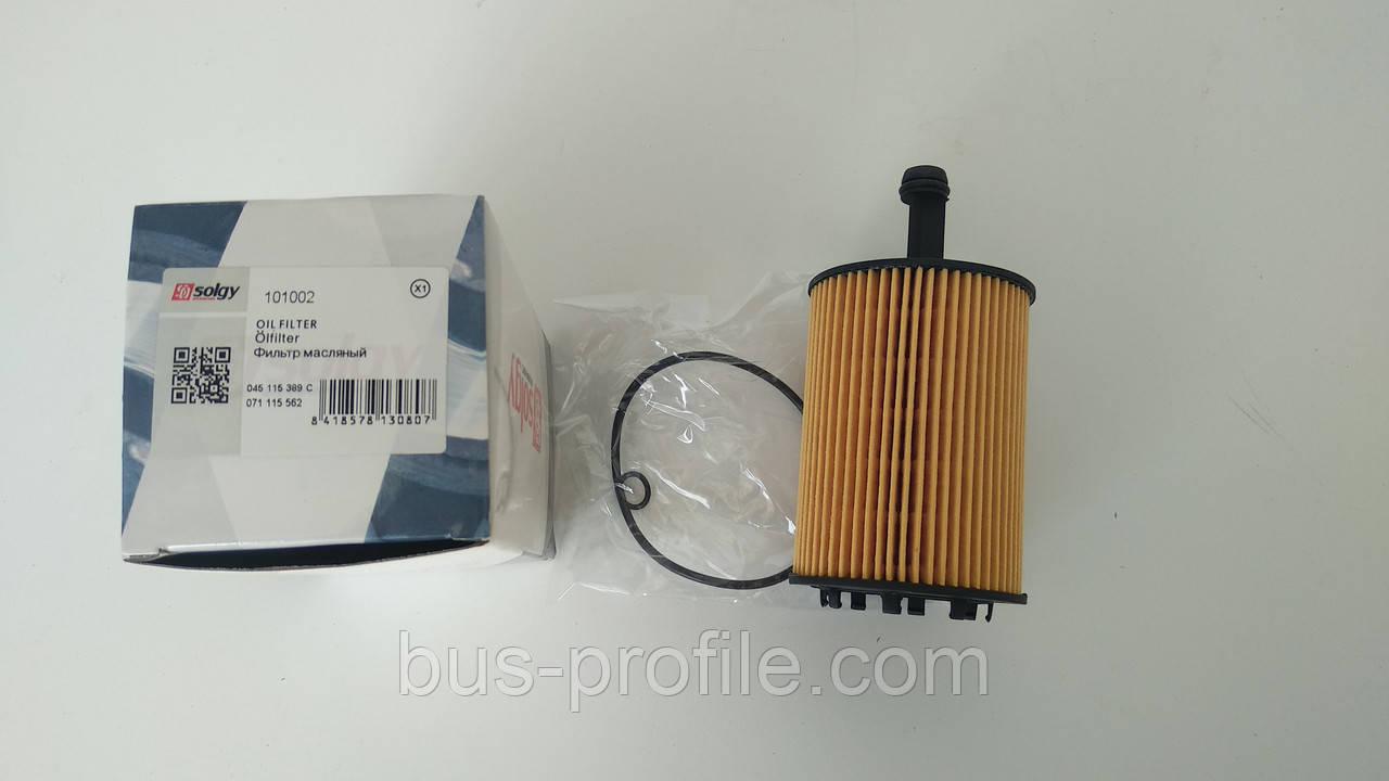 Фильтр масляный VW T5/Caddy III 03- — Solgy — 101002