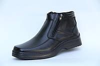 Мужские зимние ботинки из натуральной кожи Matador